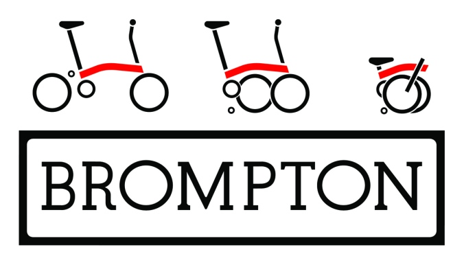 Brompton Logos B&W on top