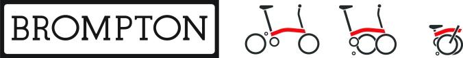 Brompton Logos B&W sidexside